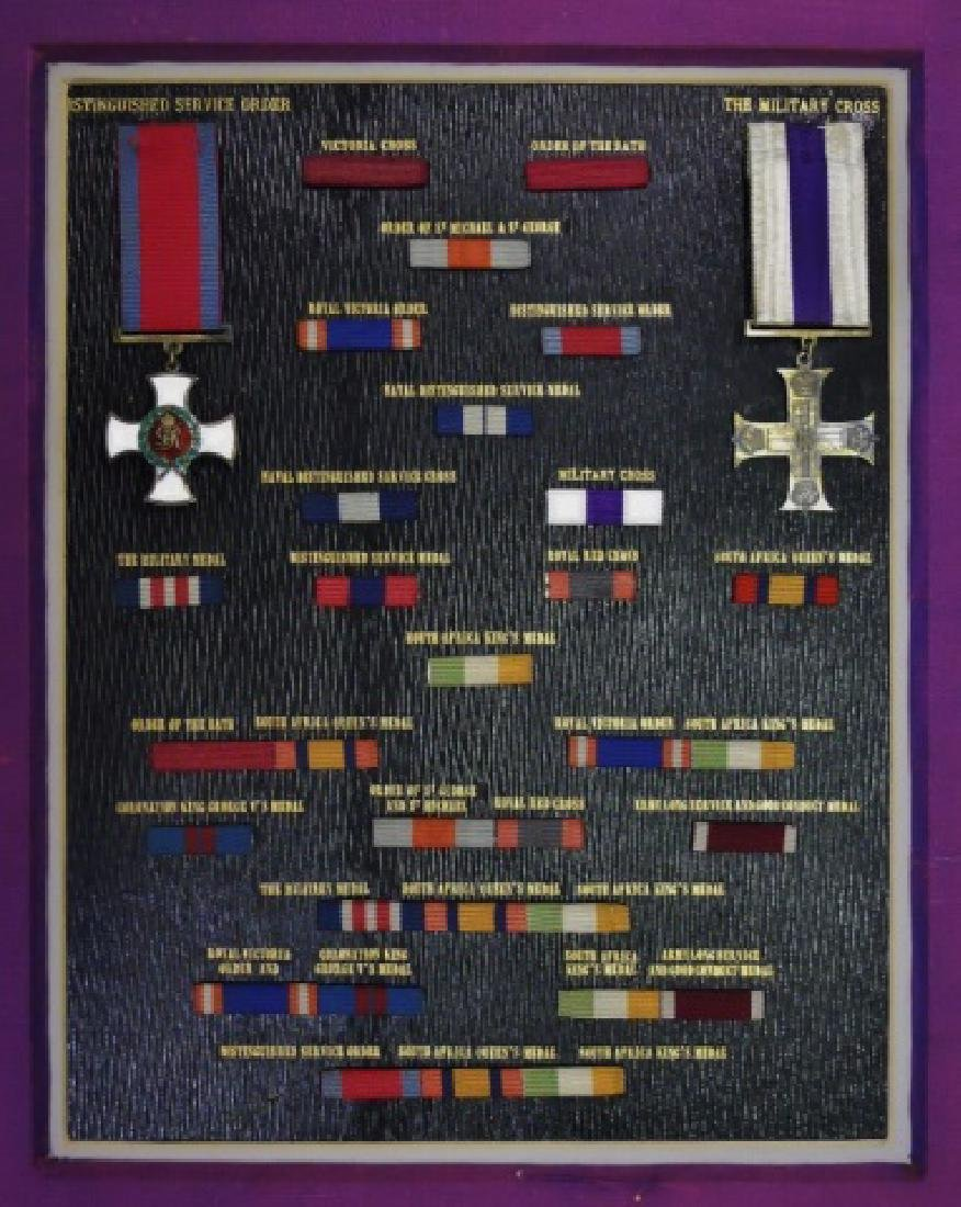 British Victorian Medals, Ribbon Bars, (32pc)