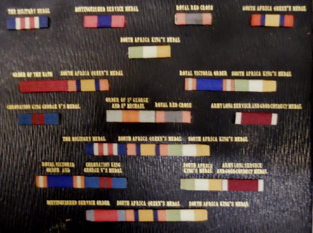 British Victorian Medals, Ribbon Bars, (32pc) - 8