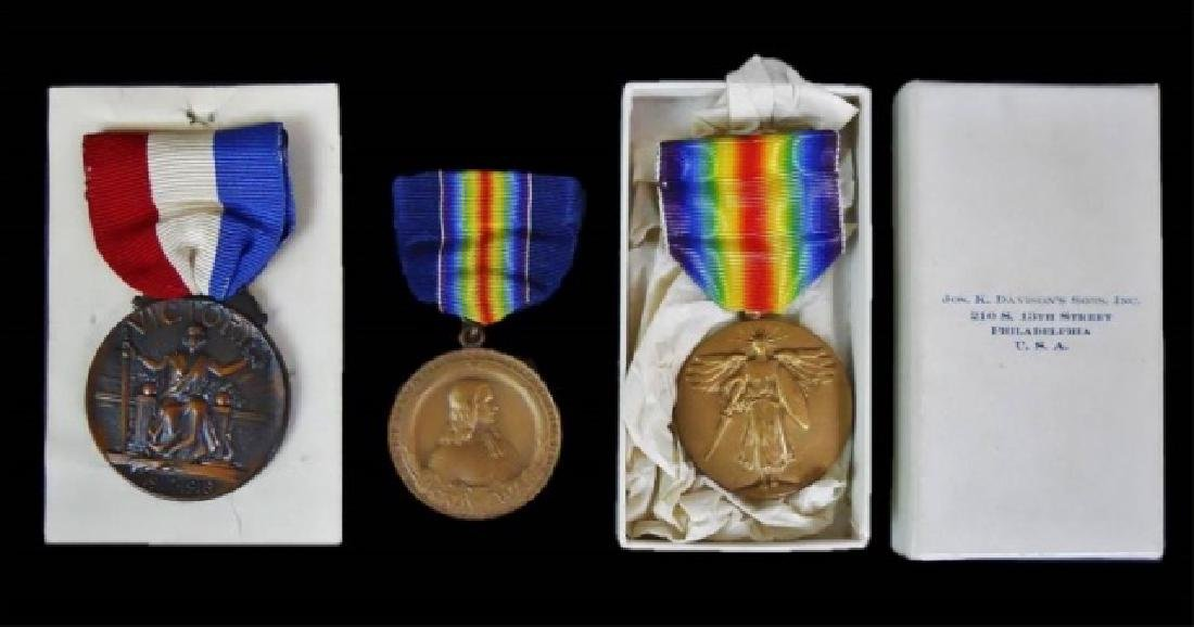 Collection of World War One Medals, (3pc)