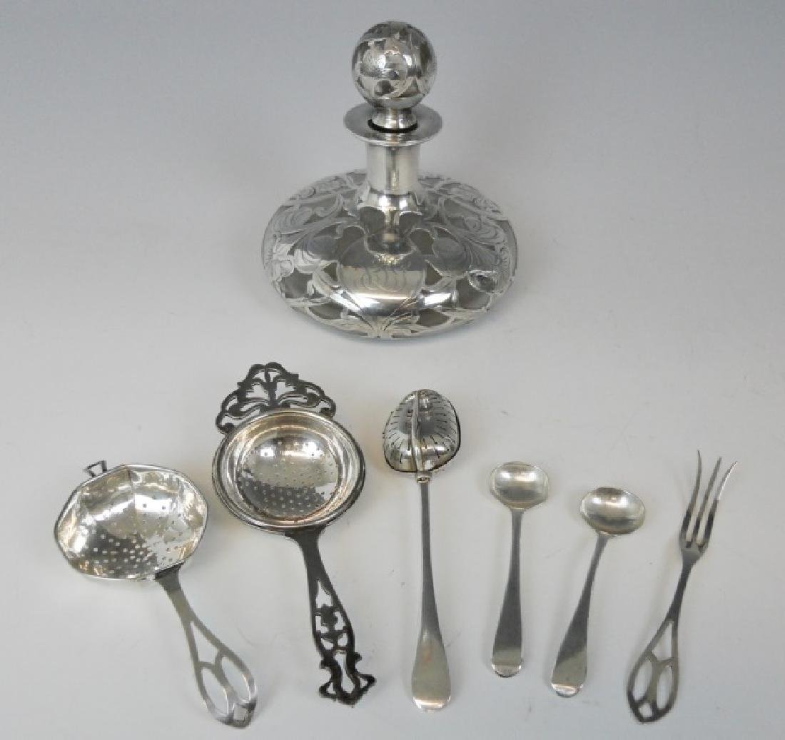 Collection of Sterling Silver Items, (7pc)