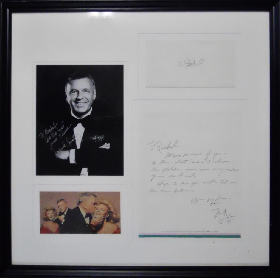 Frank Sinatra Memorabilia, Autographs, (5pc)