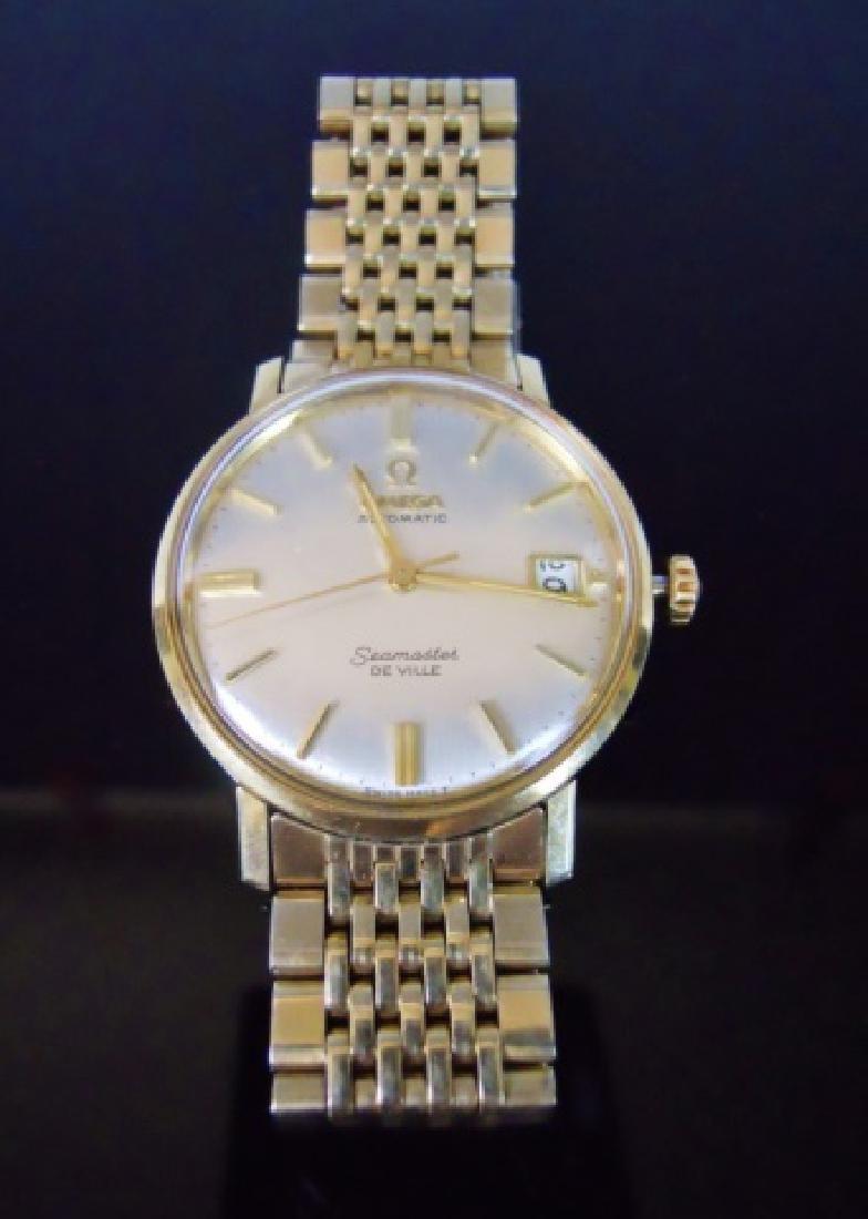 Automatic Wristwatch, Omega, Seamaster De Ville