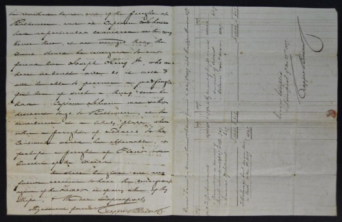 19th C. Delano Ship's Papers, S.S. Zamor, (11pc) - 3