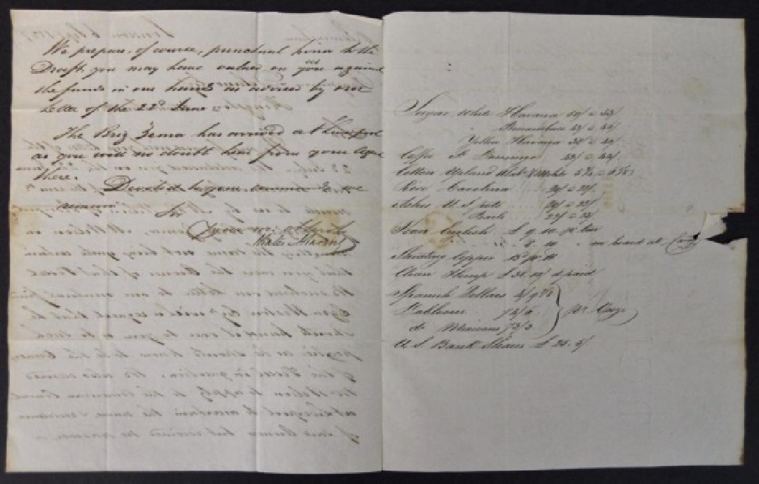 19th C. Delano Ship's Papers, S.S. Zamor, (11pc) - 4