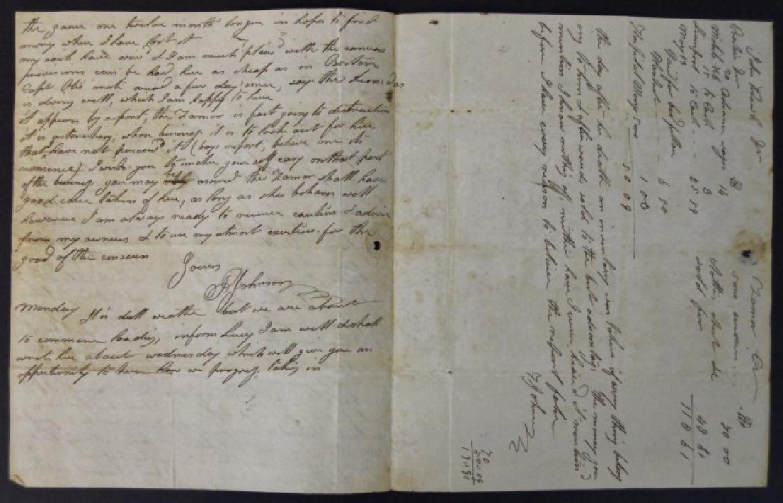 19th C. Delano Ship's Papers, S.S. Zamor, (11pc) - 5