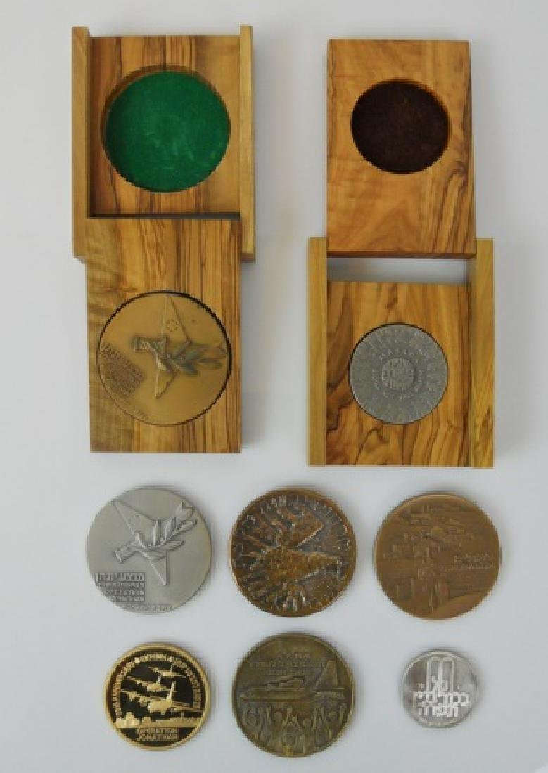 20th C Israeli Commemorative Medals (8pc)