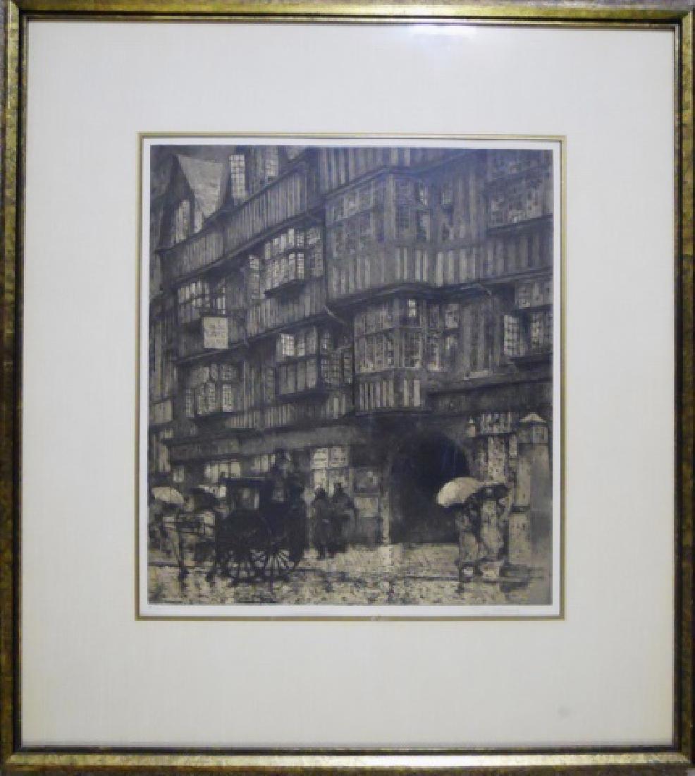Engraving, KASIMIR, LUIGI (Austrian 1881-1962)
