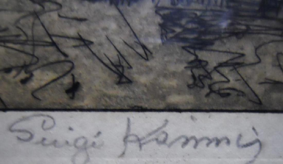 Engraving, KASIMIR, LUIGI (Austrian 1881-1962) - 3