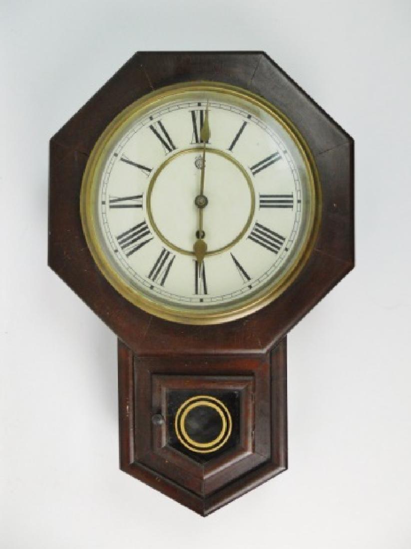 Antique Wall Clock, Waterbury Clock Co.