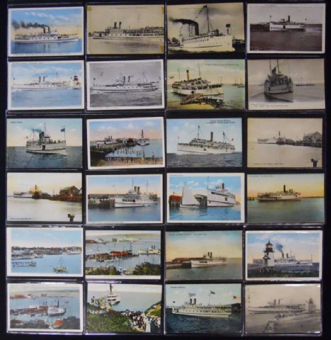 Antique Postcards, Cape and Islands Ferry, (153pc) - 3