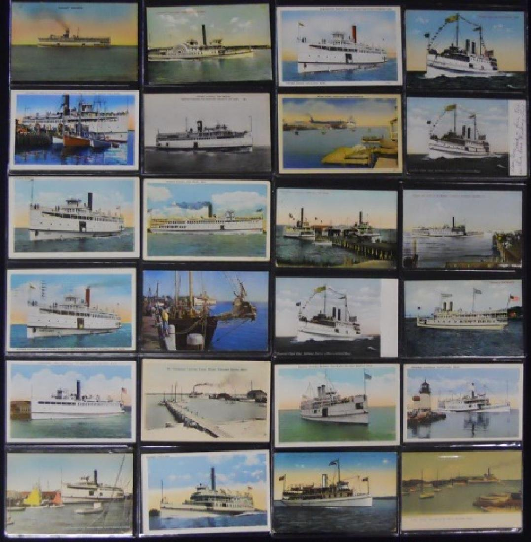 Antique Postcards, Cape and Islands Ferry, (153pc) - 4