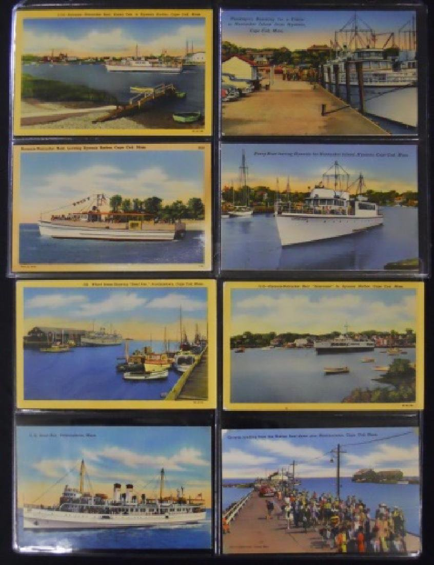 Antique Postcards, Cape and Islands Ferry, (153pc) - 7