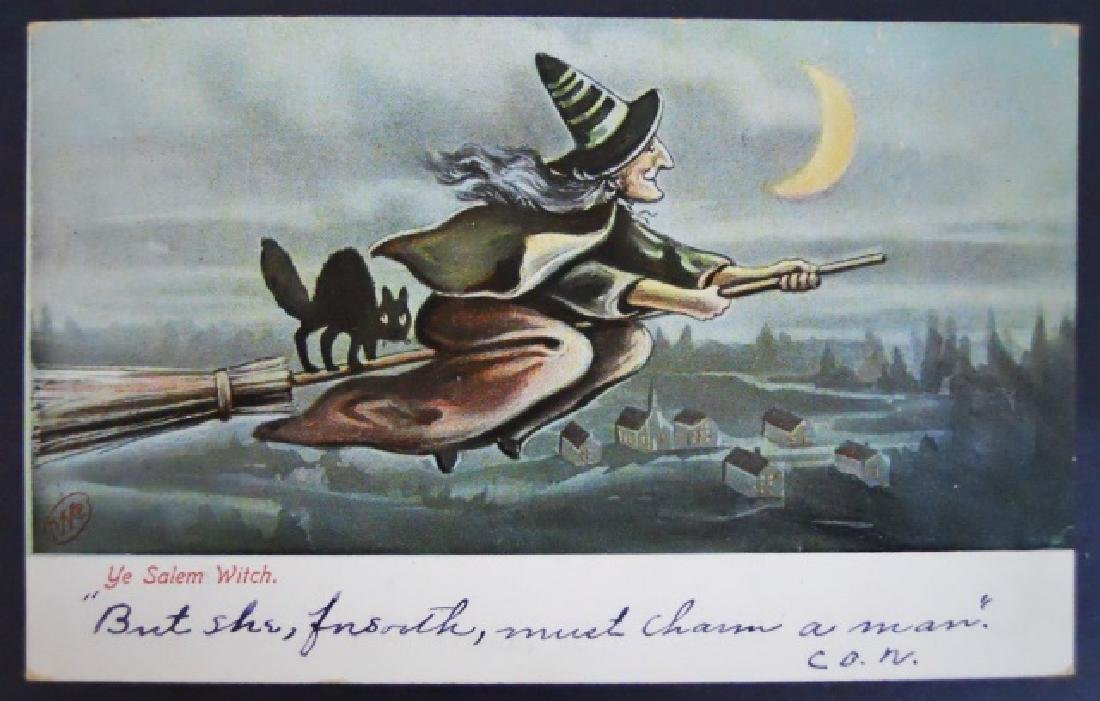 Early 20th C. Holiday Theme Postcards, (66pc) - 5