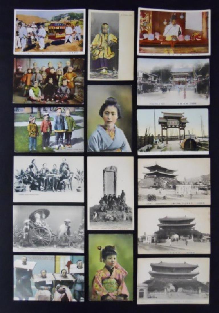 Antique International Postcards, (42pc)