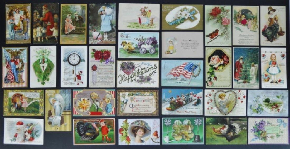 Postcards: Native American, Holidays (298pc) - 2