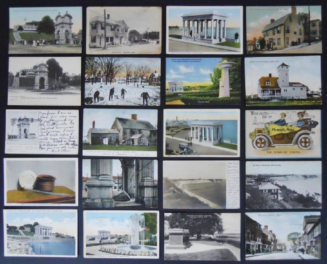 19th - 20thC. Postcards from S.E. Mass (582pc)