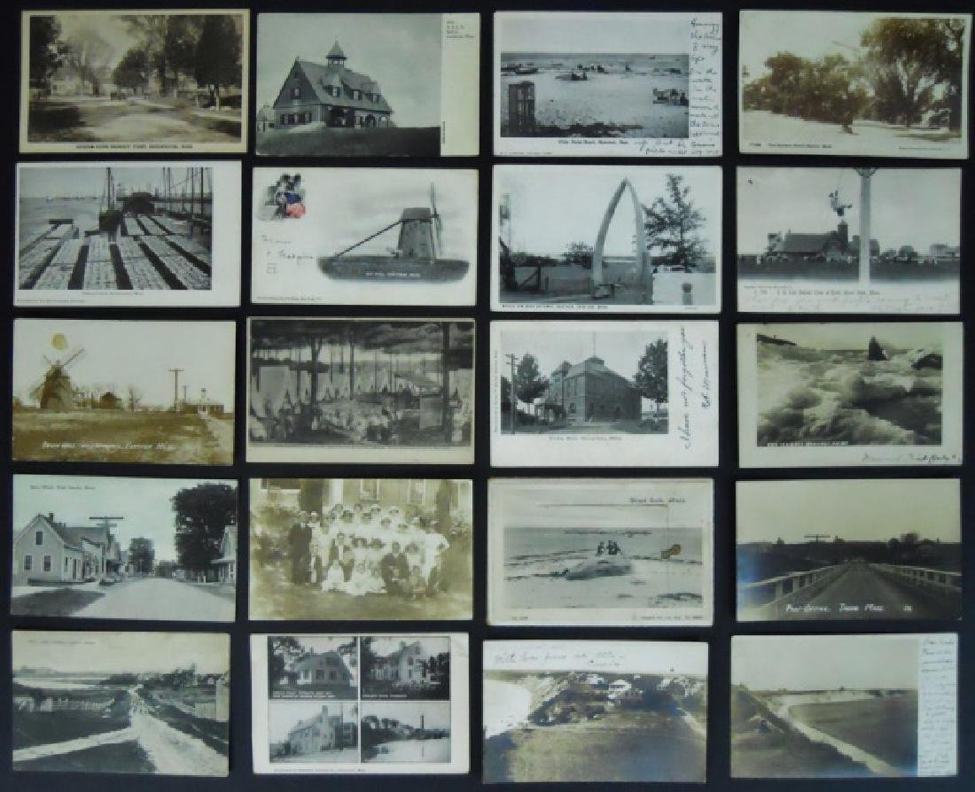 19th - 20thC. Postcards from S.E. Mass (582pc) - 2