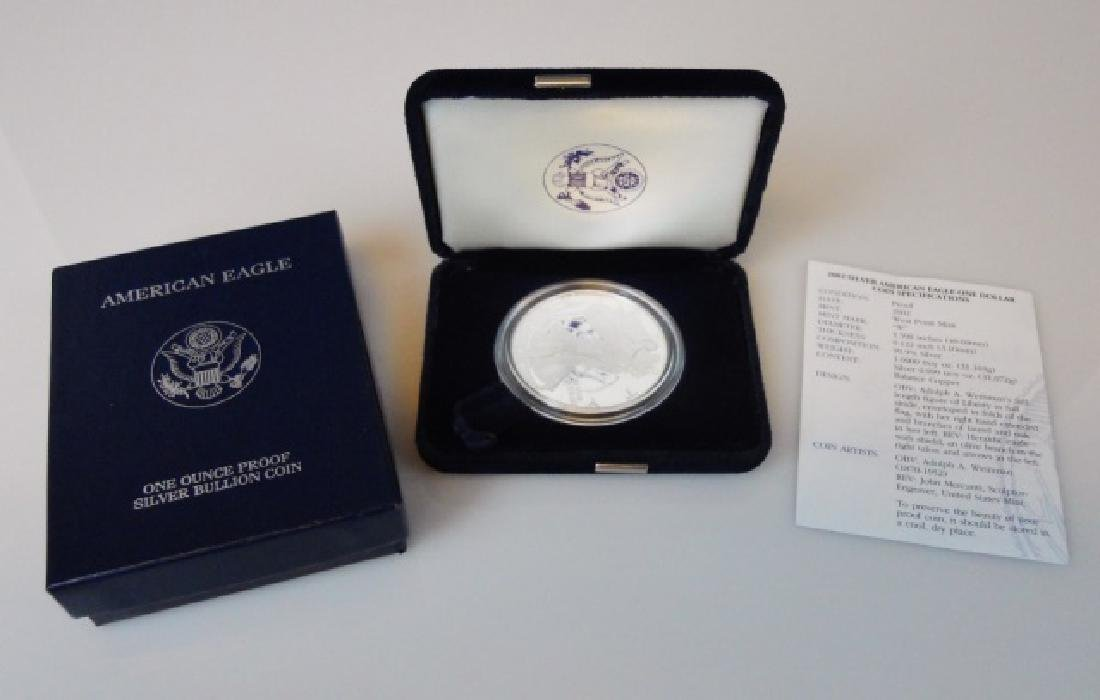 US American Eagle Silver Proofs, 1999-2004, (6pc) - 2