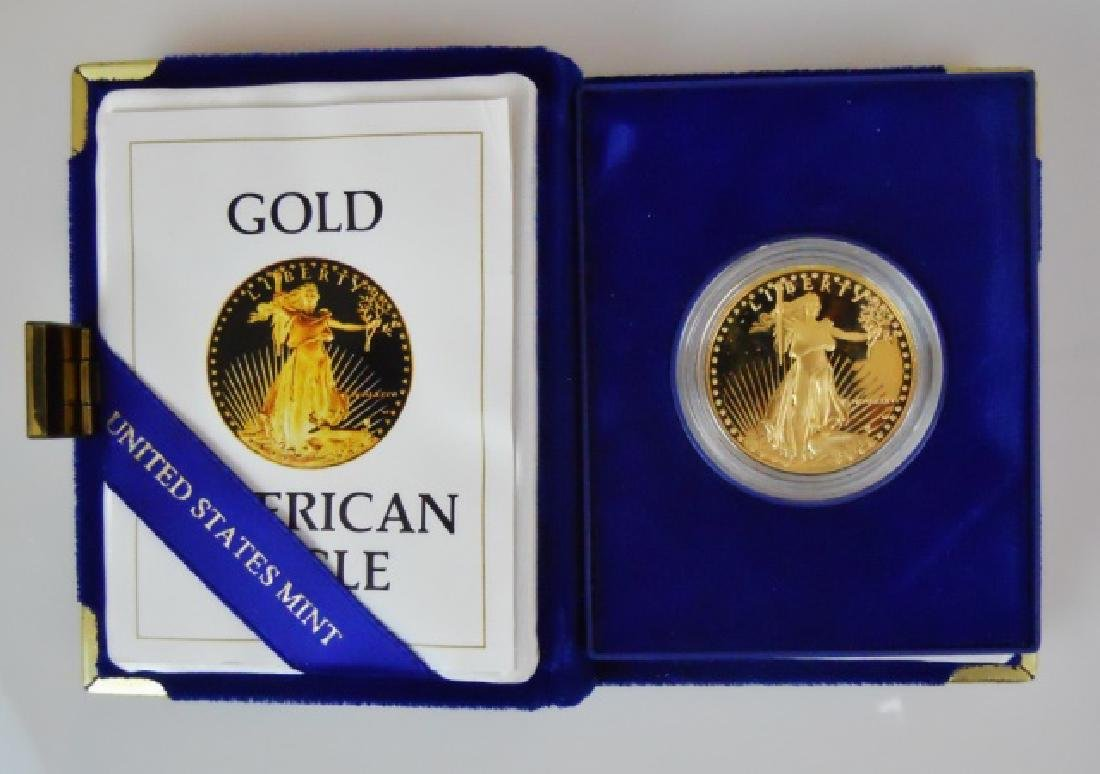 US 1986 $50 Proof Gold American Eagle Coin