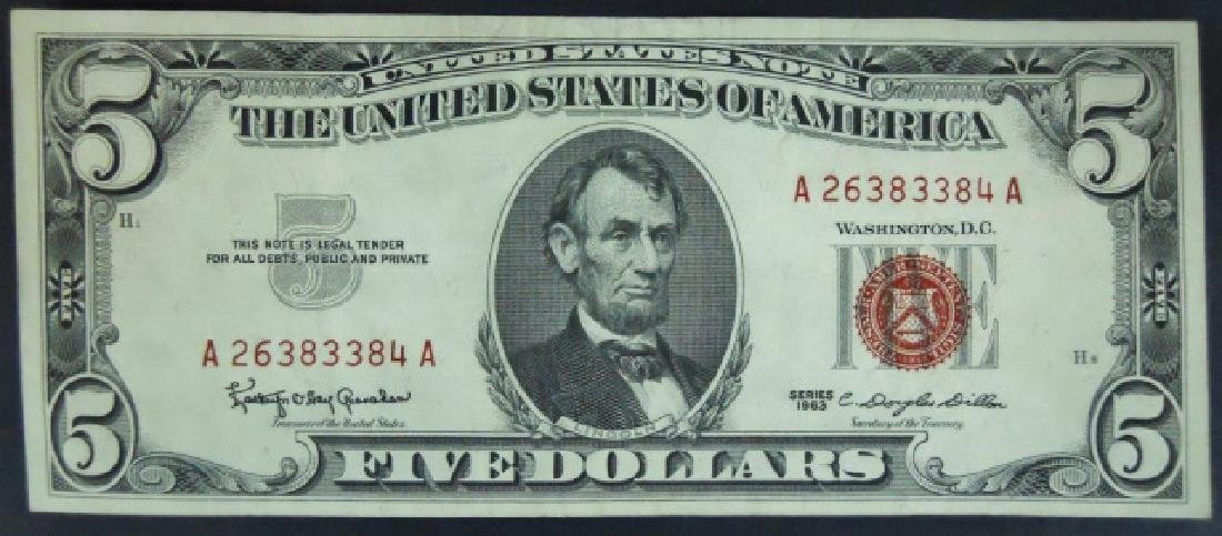 Currency SIlver Certificates, Demand $103 Face - 4
