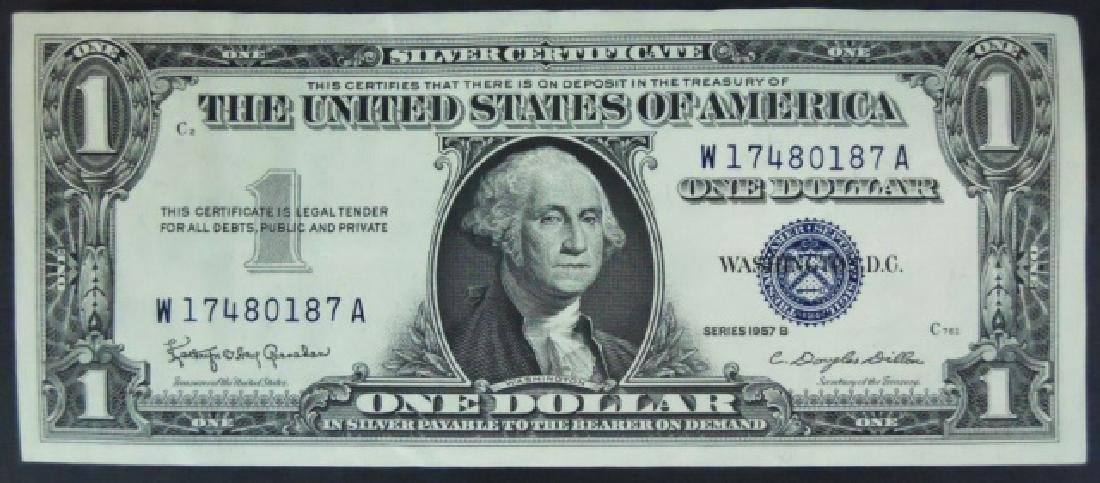 Currency SIlver Certificates, Demand $103 Face - 5