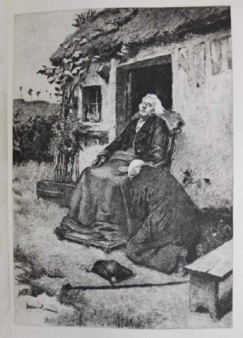 Four Vol, Les Miserables, Victor Hugo, Brown, 1887 - 6