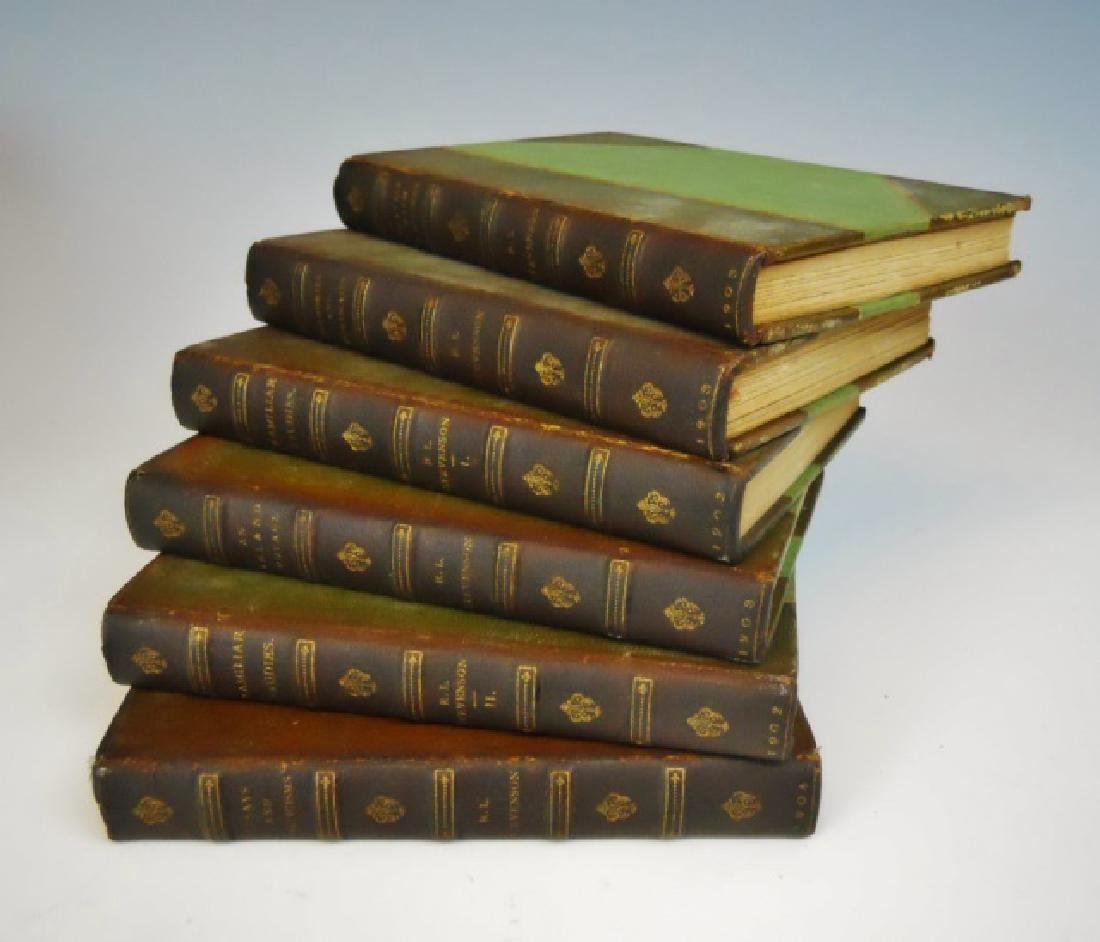 Six Vol. Robert Lewis Stevenson, 1902, Turner