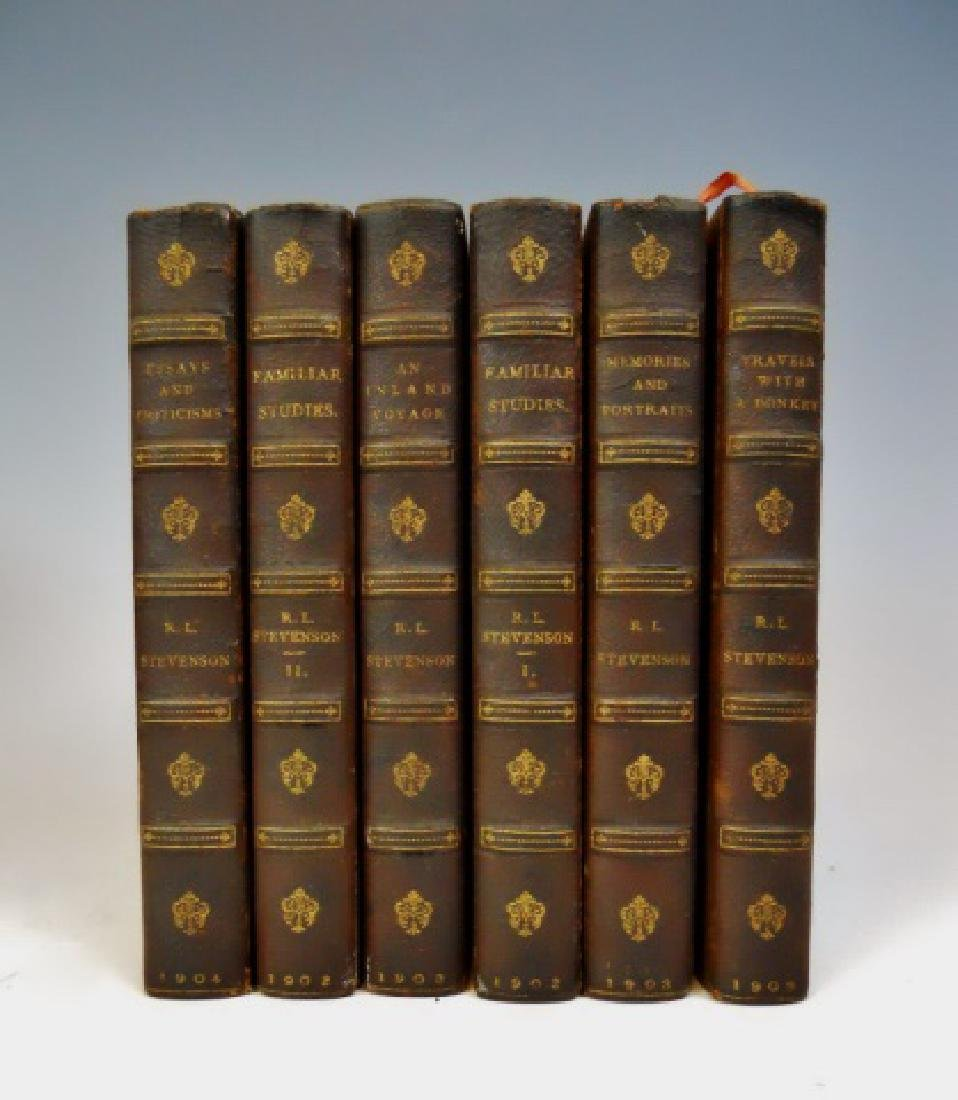 Six Vol. Robert Lewis Stevenson, 1902, Turner - 2