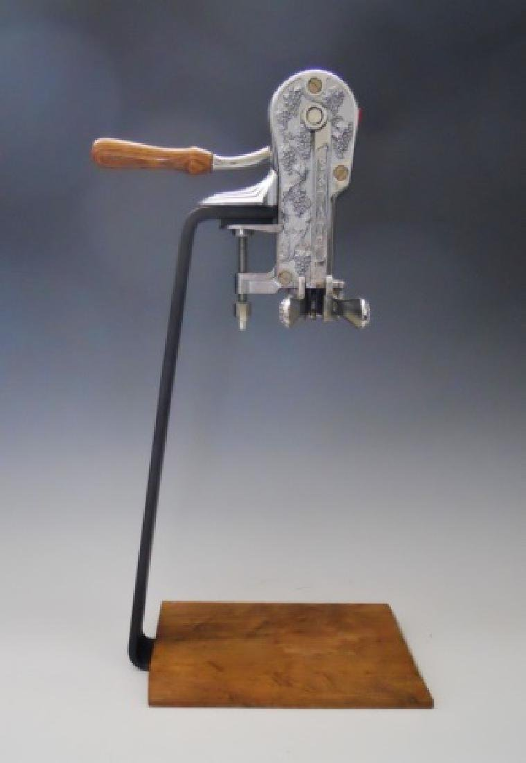 Vintage Mechanical Standing Wine Opener, Estate