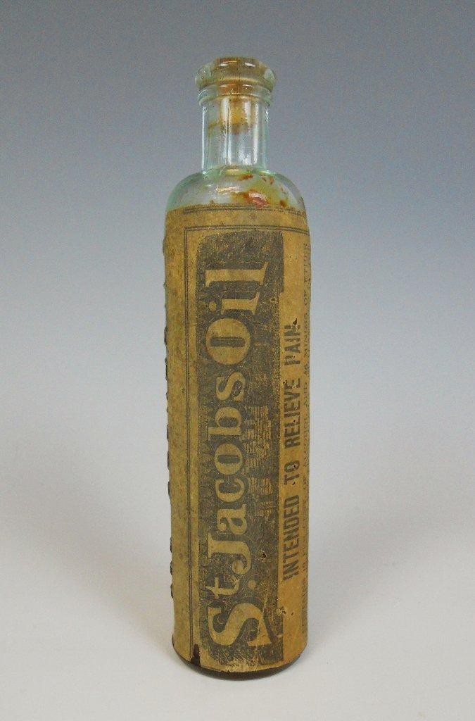 19th C. Medicine Bottles Labels, Contents, (13pc) - 6