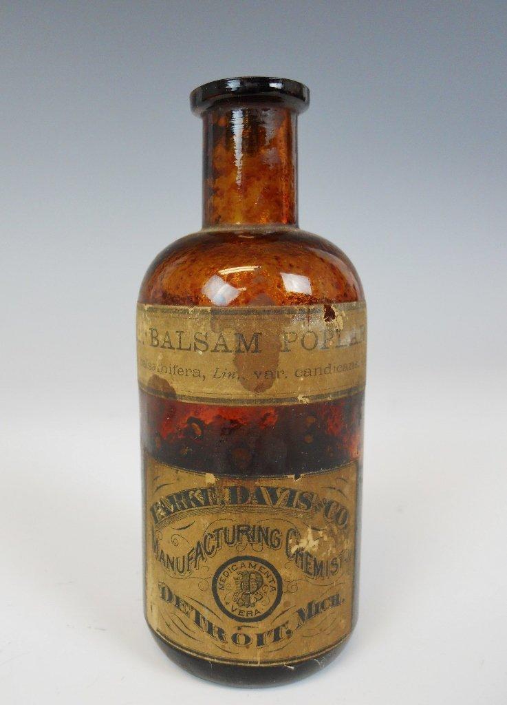 19th C. Medicine Bottles Labels, Contents, (13pc) - 7