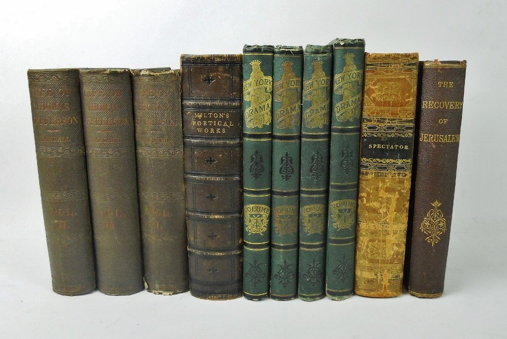 Collection of Antiquarian Books (15pc)