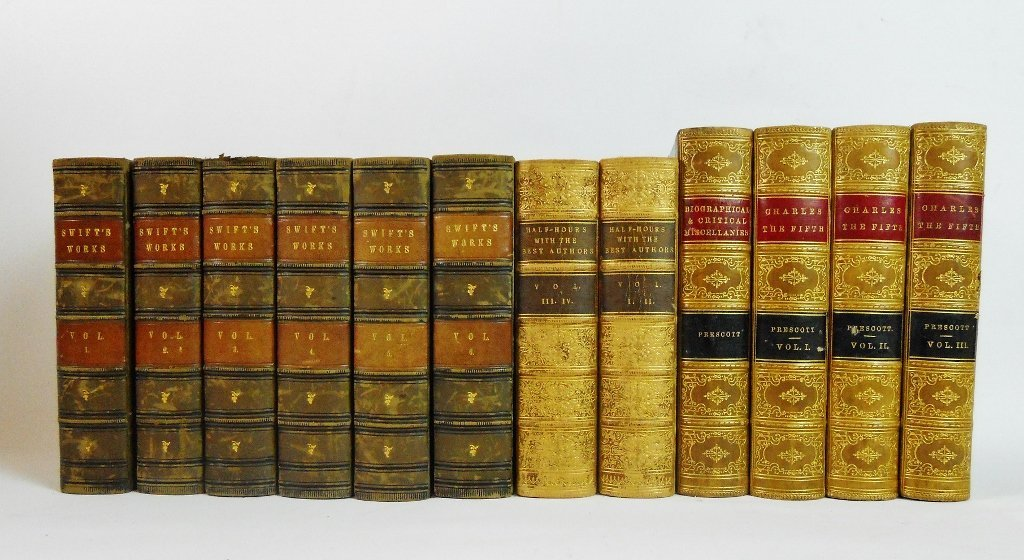 Collection of Antiquarian Books (12pc)