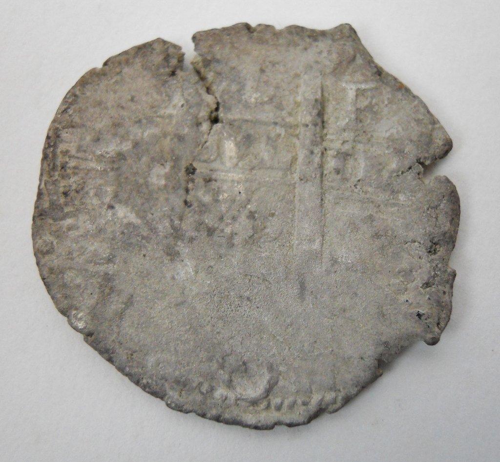 8 Reales Silver Coin, (1652-1678), Isla de Muerto - 2