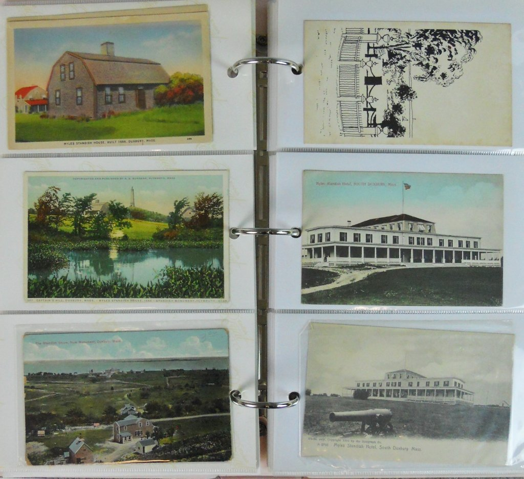 Early 20th C. Postcards Southeastern Mass (81pc)
