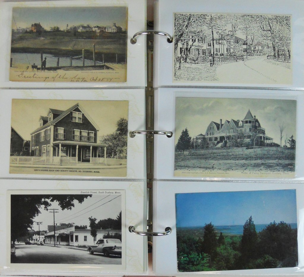Early 20th C. Postcards Southeastern Mass (81pc) - 2