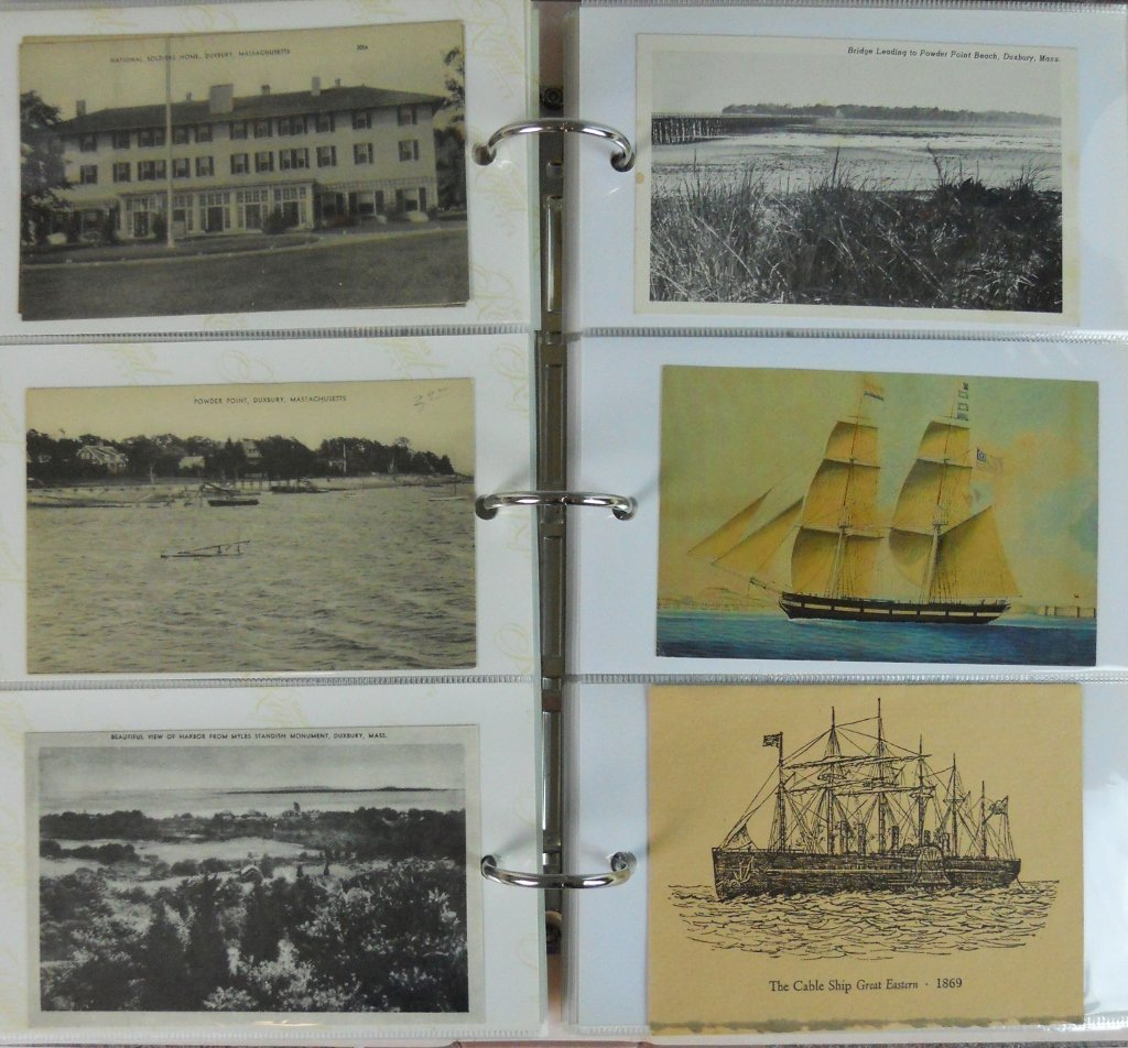 Early 20th C. Postcards Southeastern Mass (81pc) - 3