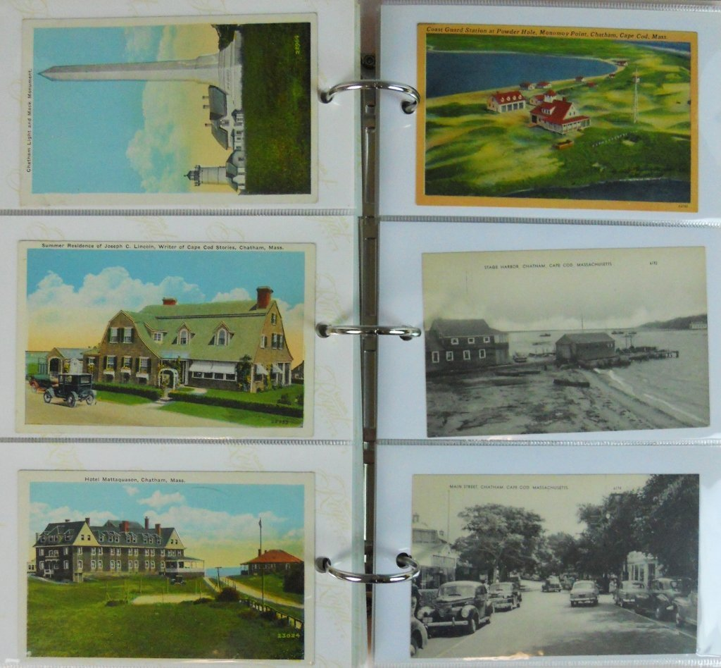 Early 20th C. Postcards Southeastern Mass (81pc) - 4