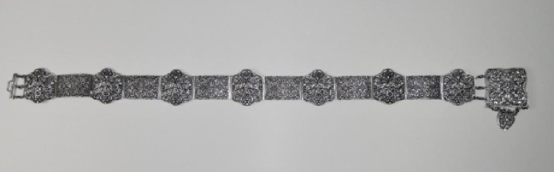 Antique Italian .800 Silver Belt, KREMOS, ROMA - 2