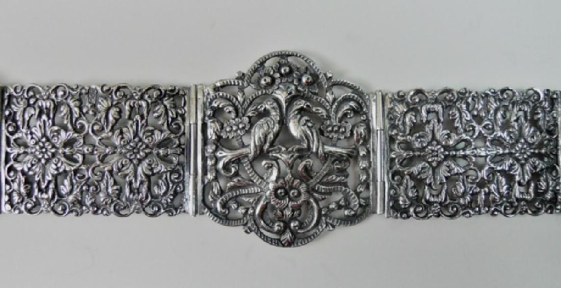 Antique Italian .800 Silver Belt, KREMOS, ROMA - 3