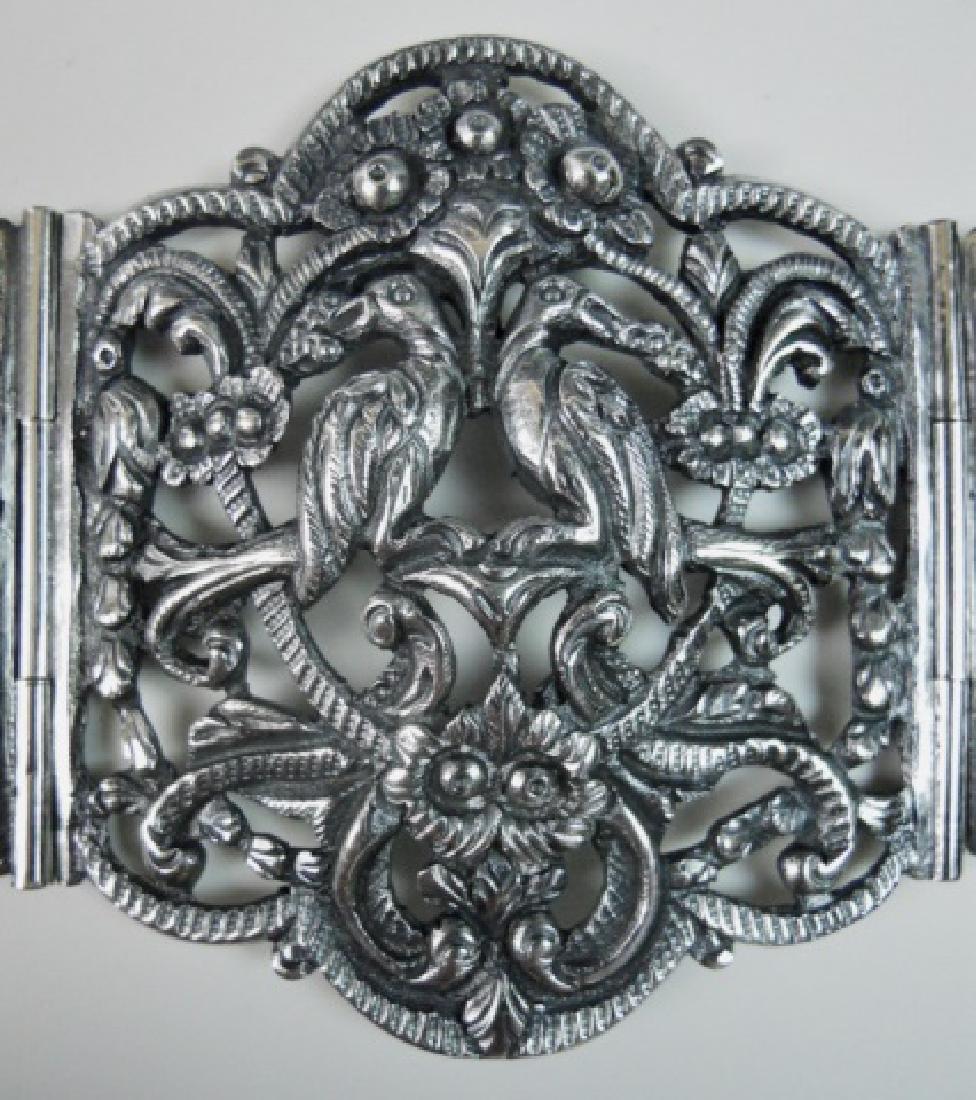 Antique Italian .800 Silver Belt, KREMOS, ROMA - 4