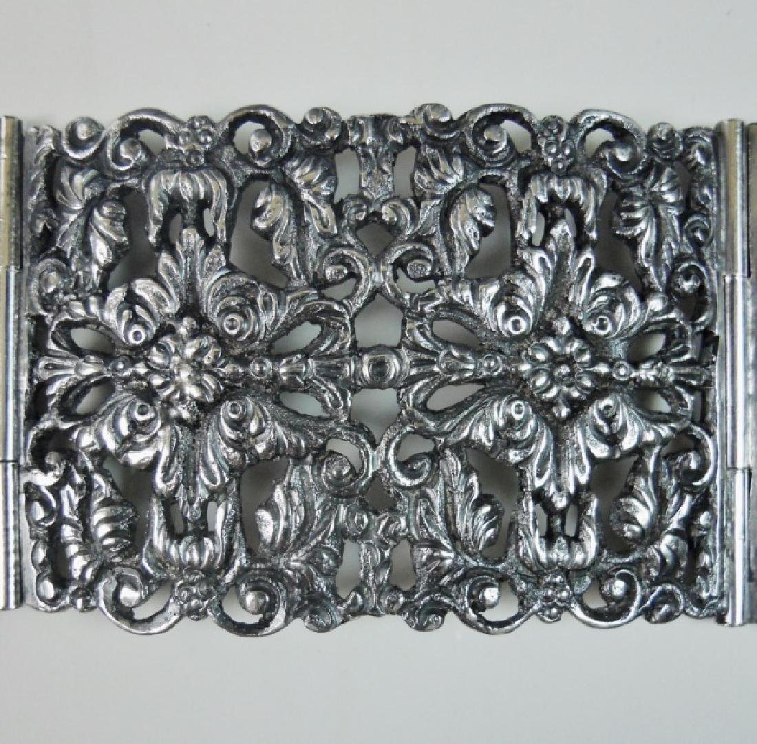 Antique Italian .800 Silver Belt, KREMOS, ROMA - 5