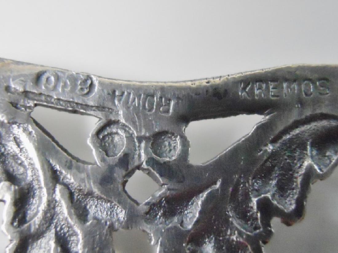 Antique Italian .800 Silver Belt, KREMOS, ROMA - 6