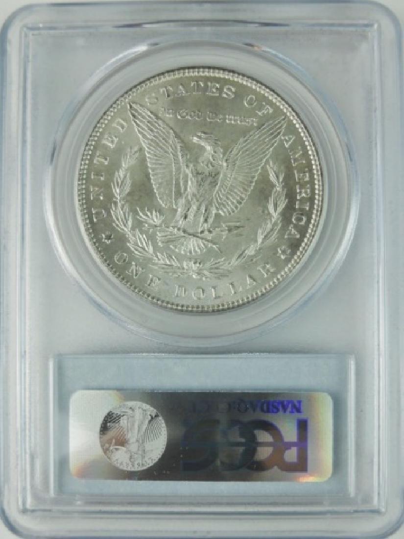 1897 US Morgan Silver Dollar, PCGS MS65 - 2