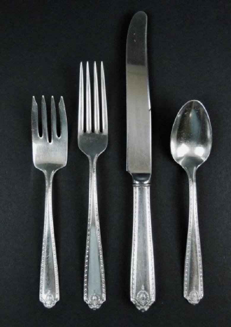 Sterling Silver Flatware Set, Westmorland (48pc) - 2