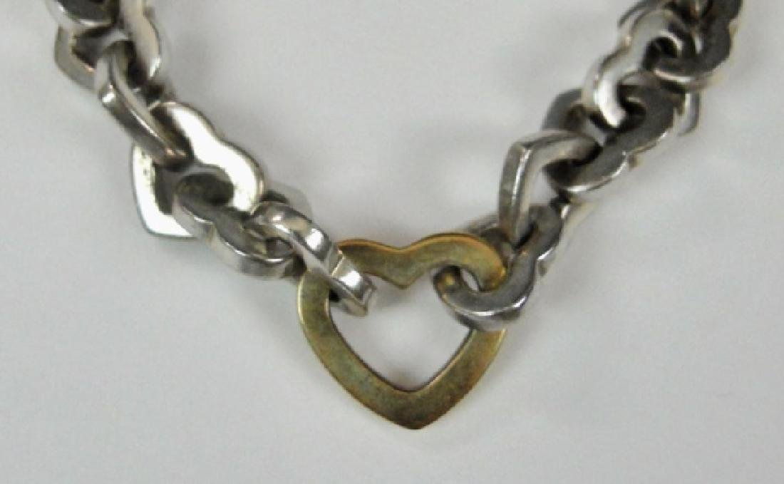 Sterling Silver, 14K Gold Bracelet, TIFFANY & Co - 2