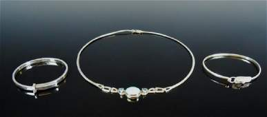 Collection of Sterling Silver Jewelry, (3pc)