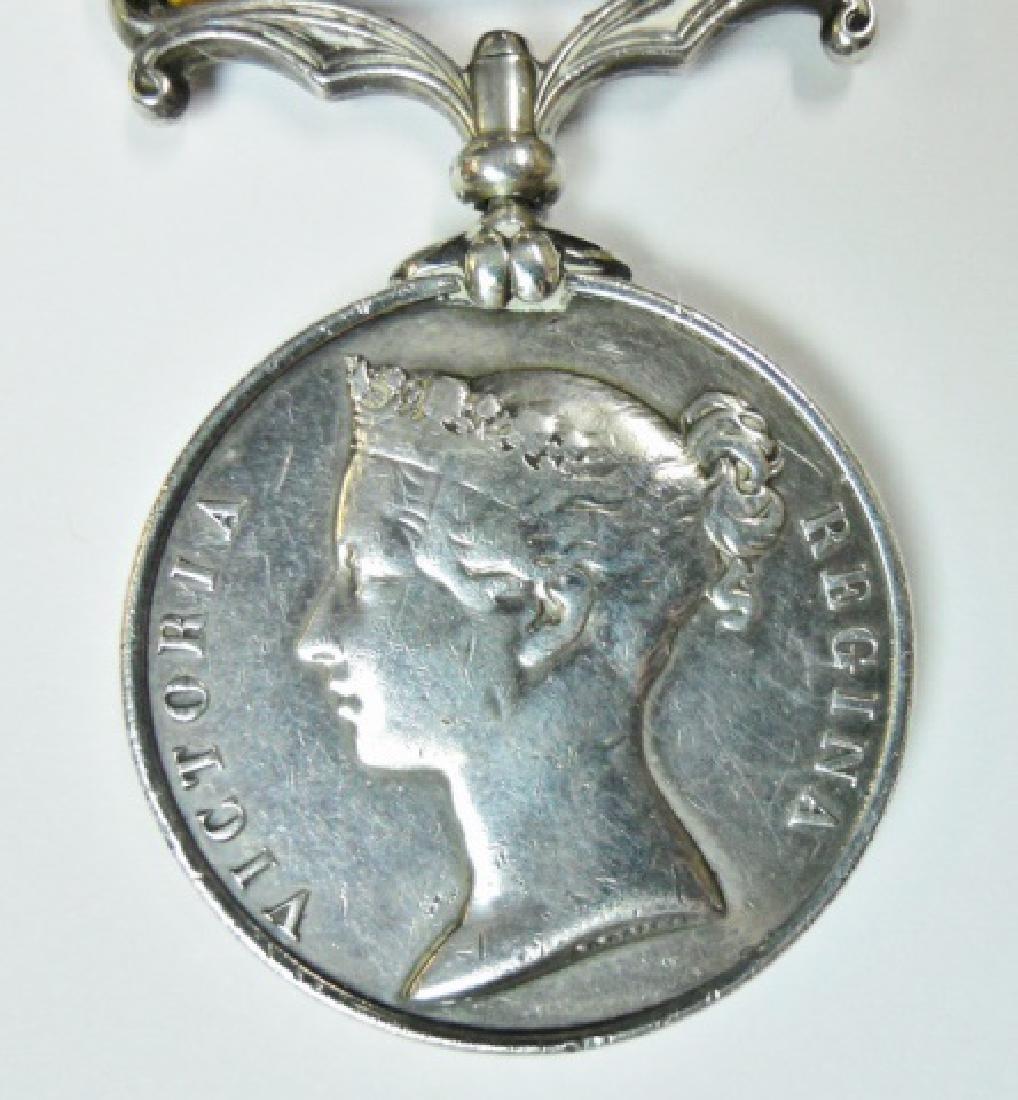British China Opium War Medal, Named - 3