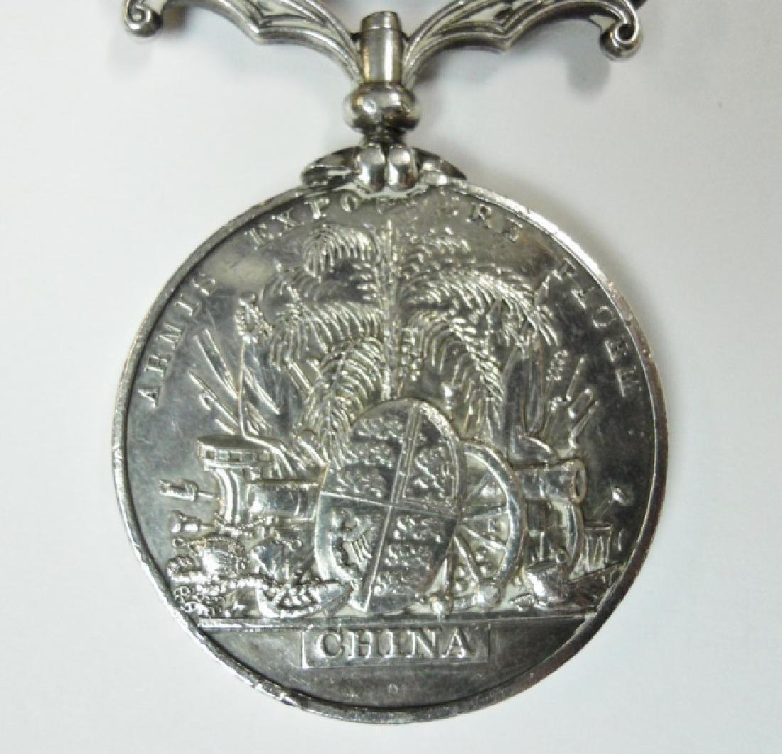 British China Opium War Medal, Named - 4