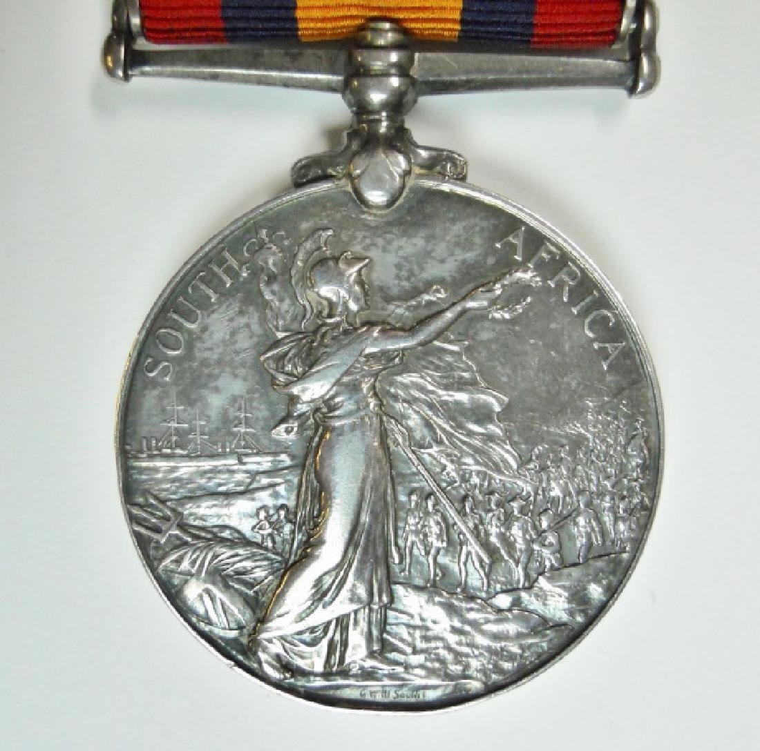 British Boer War King, Queen's Medals, Named (2pc) - 5